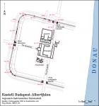 Az albertfalvai római katonai tábor és település alaprajza