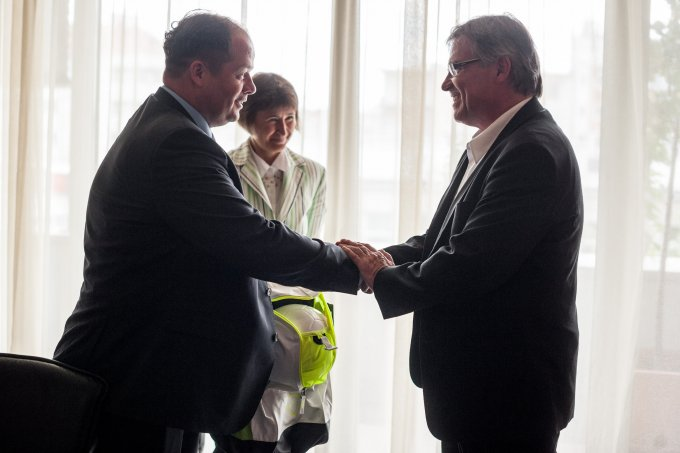 Dr. Hoffmann Tamás és Bernd Marcell Loffler