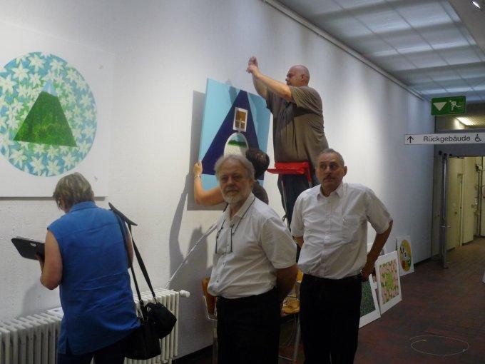 Kovács-Gombos Gábor és Olesher Tamás kiállítása Stuttgartban 2016