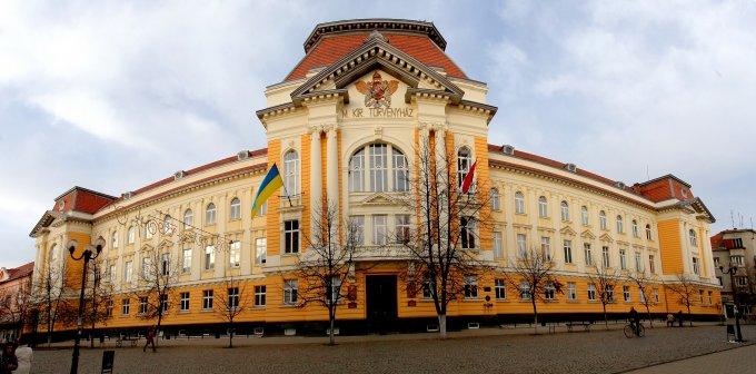 A Kárpátaljai Magyar Főiskola épülete
