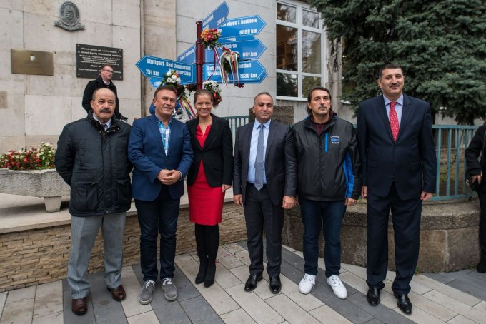 Bahcelielevler kerületének delegációja első alkalommal vesz részt a Kerület Napján (2017.)