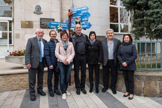A Benei delegáció Vince István polgármester vezetésével a Kerület Napján (2017.)
