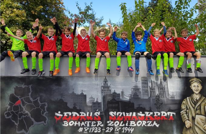 Don Bosco Iskola a zoliborzi labdarúgó tornán 2018