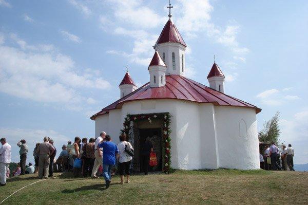 Szent István kápolna a Perkőn