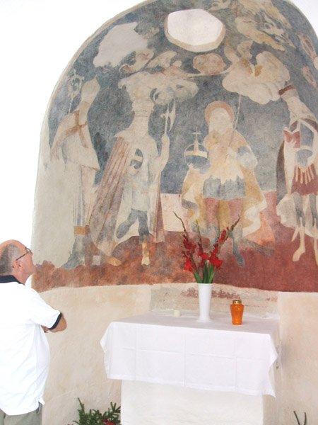 A Szent István kápolna belülről