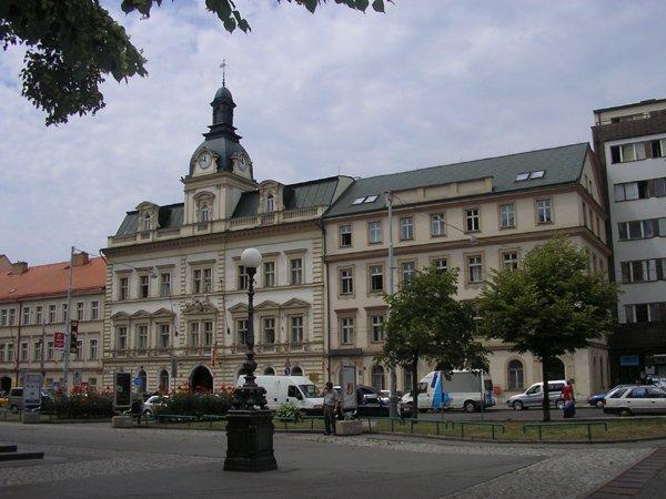 Városháza Prága5-ben