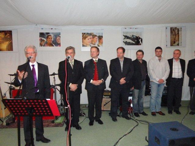 Partnervárosi konferencia Trogírban polgármesterek csoportja 2013