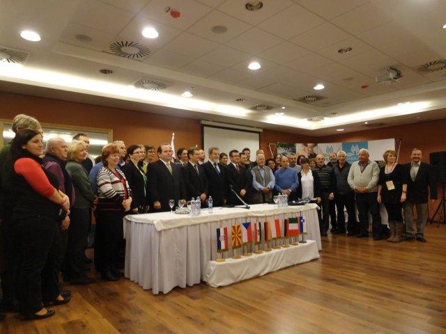 Újbudai csoport a trogíri önkormányzat harkányi partnervárosi konferenciáján