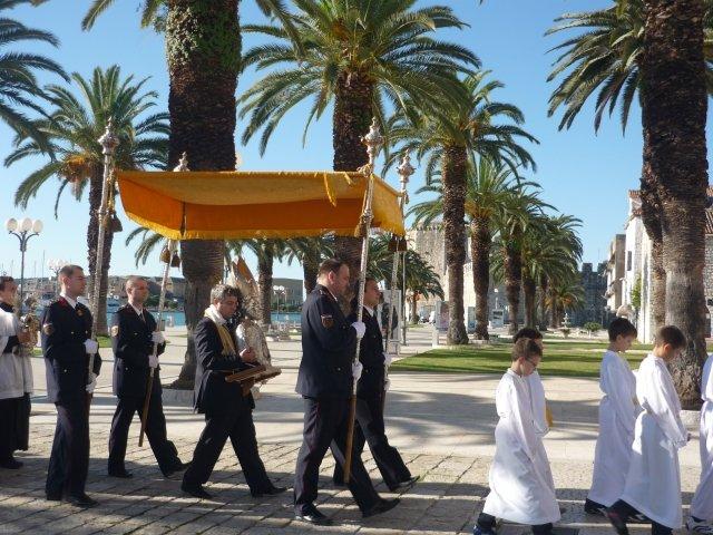 Szent János Napja Trogírban