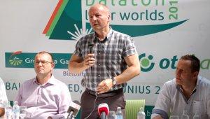 Simicskó István, sportállamtitkár, sajtótájékoztató