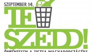 TeSzedd! Önkéntesen a tiszta Magyarországért plakát