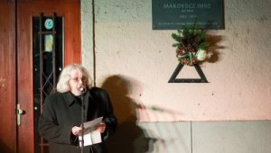 Makovecz Imrére emlékezett a kerület