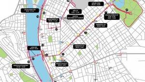 Szakaszosa útlezárás lesz a Wizz Air Félmaraton idején