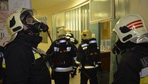 Jól vizsgáztak az újbudai tűzoltók a BME reaktorában tartott gyakorlaton (foto:XI. kerületi Hivatásos Tűzoltó-parancsnokság)