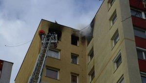 Négy sérültje van a gazdagréti lakástűznek (foto:fb.kovarieva)
