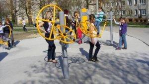 Fitness parkot kapott Gazdagrét